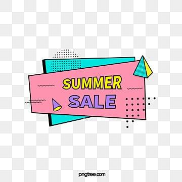 black border color memphis promotional label, Promotion, Geometric, Business PNG and Vector