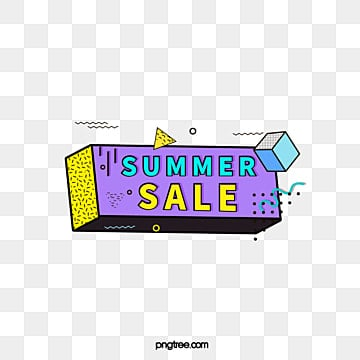 black border color memphis promotional label, Promotion, Geometric, Summer Discount PNG and Vector