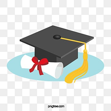 colour concise bachelors hat and certificate combination, University, Bachelor Cap, Education PNG and Vector