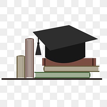 vector element of bachelors cap for vector graduation, Book, University, Bachelor PNG and Vector