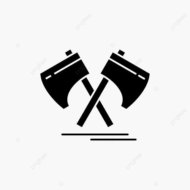 da8c3c2225c0b Axe,hatchet,tool,cutter,viking Glyph Icon Vector Isolated I, Ancient ...