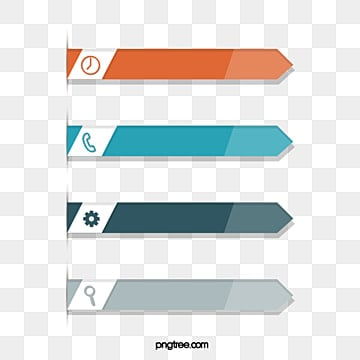 Origami Arrow Label for Business Information Charts, Information, Information Chart, Icon PNG and Vector