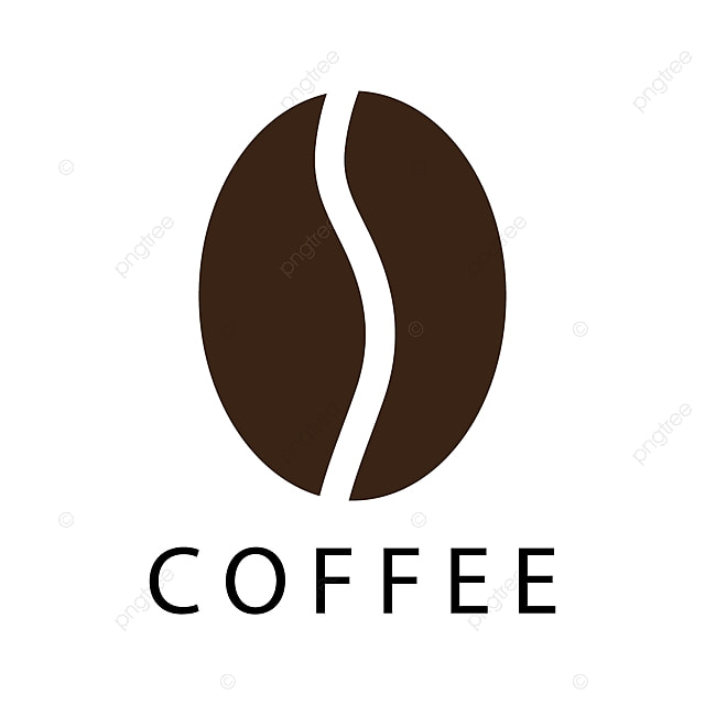 Coffee Bean Icon, Illustration, Silhouette, Design PNG And