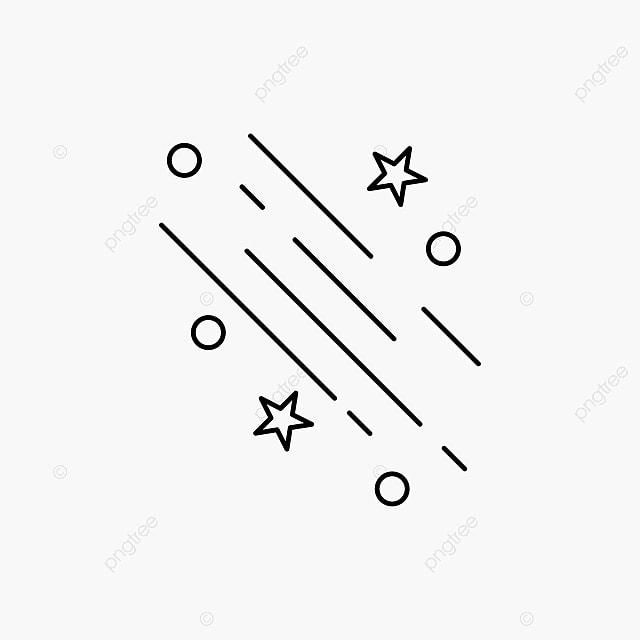 Shooting Star Png, Vector, PSD, And Clipart With