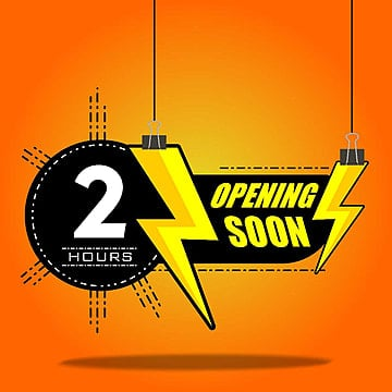 opening soon countdown hour, Banner, Typography, Celebration PNG and Vector