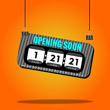 opening soon countdown timer, Opening Soon, Countdown Timer, Days PNG and Vector