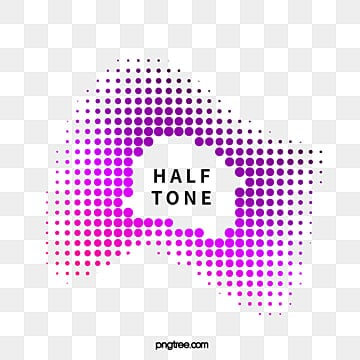 color halftone gradient text box for irregular graphics text box, Irregular Graphic, Geometric, Halftone PNG and Vector