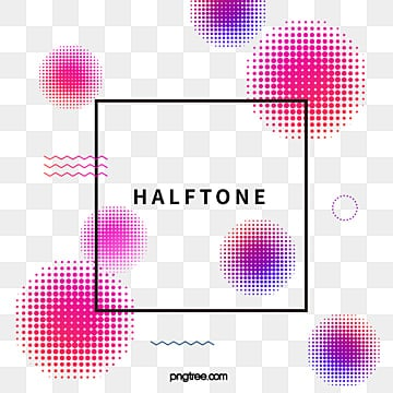 Halftone Element Color Gradient Text Box text box, Element, Halftone, Circular PNG and Vector