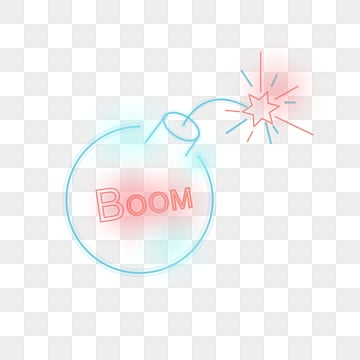 neon style cartoon dialogue bubbles, Geometric Lines, Luminous Effect, Cartoon Dialog Box PNG and Vector