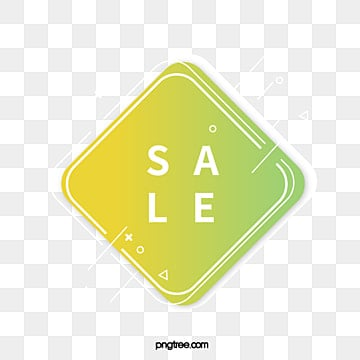 white edge green square promotion label, Promotion, Geometric, Business PNG and Vector