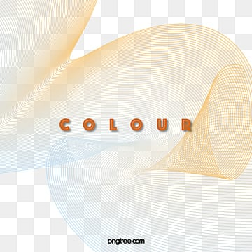 geometric gradient line color elements, Line Combination, Use Gradient Tones, Form A Flowing Line Shape PNG and Vector