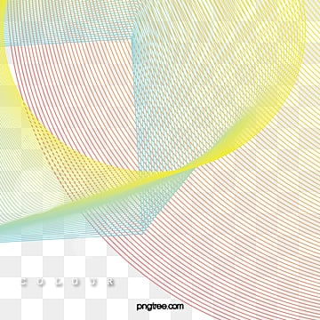 irregular color overlay gradient line elements, Use Gradient Tones, Form A Flowing Line Shape, Line Combination PNG and Vector