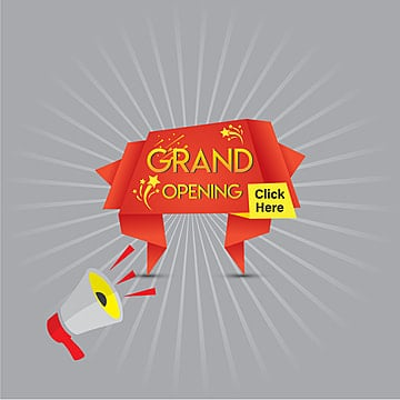 grand opening, Background, Banner, Poster PNG and Vector