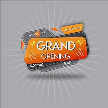 grand opening, Grand, Shop, Ceremonial PNG and Vector