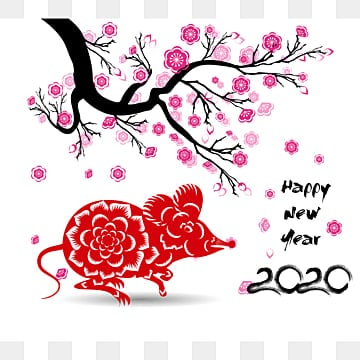 Year Of The Rat PNG Images | Vector and PSD Files | Free ...