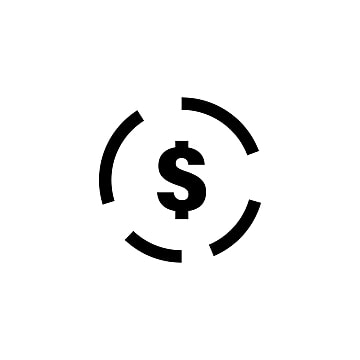 Dollar Currency Sign Icon, Currency, Dollar, Sign PNG and