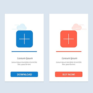Instagram,search,sets Blue And Red Download And Buy Now Web W, App