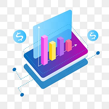 stereo gradual mobile finance data map, Business, Data Graph, Gradient Color PNG and Vector