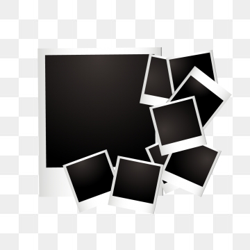 style Polaroid frame, Polaroid, Frame, Love Frame PNG and Vector