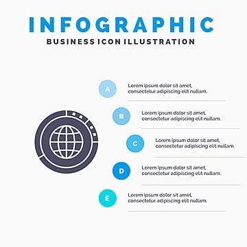 World Distribution Statistics, World Vector, Ppt, Statistics PNG and