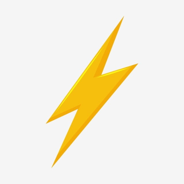 Thunder And Bolt Lighting Flash Vector, 3d, Banner, Battery PNG and