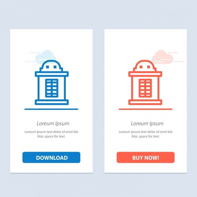 Ticket House Train Blue And Red Download And Buy Now Web