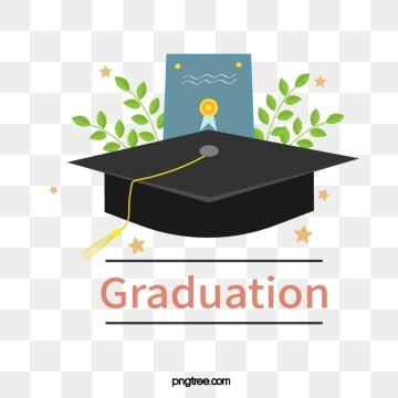 black celebration bachelors hat vector illustration elements, University, Bachelor, Bachelor Cap PNG and Vector