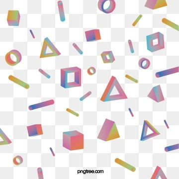 color gradient solid geometry, Triangular Body, Geometry, Ring PNG and Vector