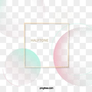halftone style background metal frame, Halftone Style, Copy, Color PNG and Vector