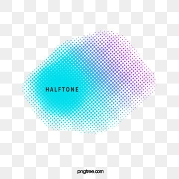 halftone style gradient border, Halftone Style, Copy, Color PNG and Vector