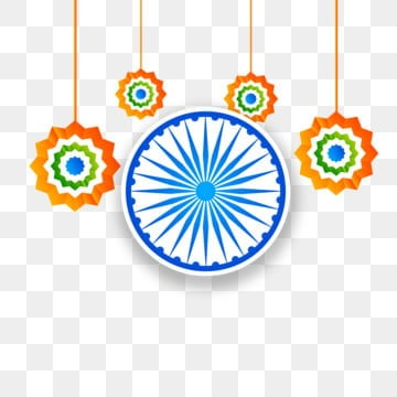 indian independence day creative hanging ashoka chakra background, Day, Republic, India PNG and Vector