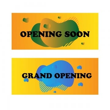 opening soon liquid design, Opening, Grand, Soon PNG and Vector