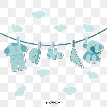 paper style blue baby articles, Baby Hat, Baby Clothes, Baby Blue PNG and Vector