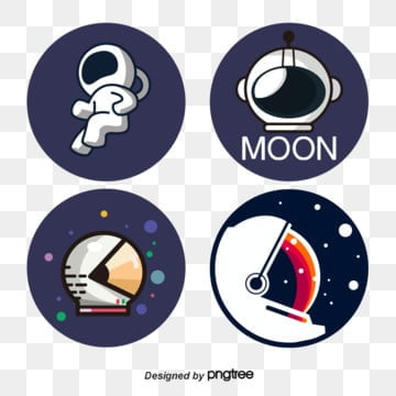 vector flattening of helmet element labels for space lunar astronauts, Space, Helmet, Astronaut PNG and Vector