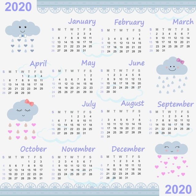 تقويم 2020 pdf عربي