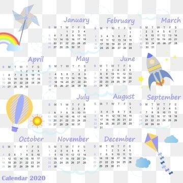 Rocket Calendar December 2020 Blue Calendar PNG Images | Vector and PSD Files | Free Download on