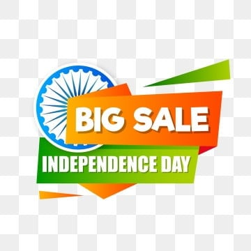 stylist abstract indian independence day sale badge, Independence, Design, Sale PNG and Vector