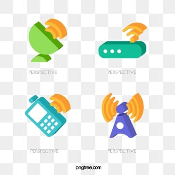 three dimensional communication color icon, Three-dimensional, Internet, Signal Tower PNG and Vector