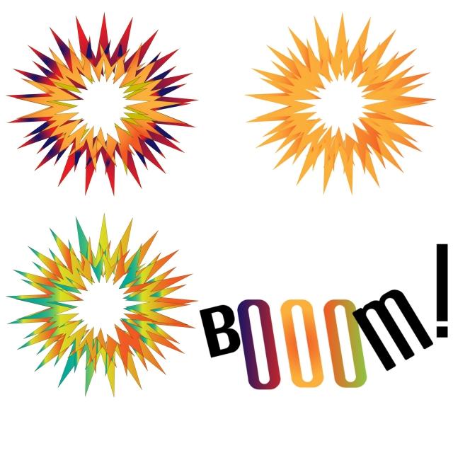 berwarna warni ledakan ledakan bom boom ledakan vektor png dan vektor untuk muat turun percuma ledakan bom boom ledakan vektor png