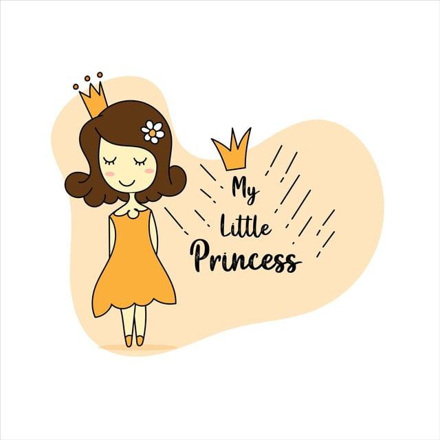 Joyeux Anniversaire Ma Petite Princesse De Carte Avec Une