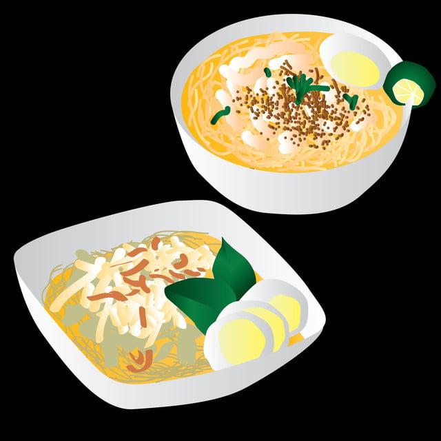 Ilustrasi Soto Indonesia Makanan Tradisional Asia Asia Ayam Png