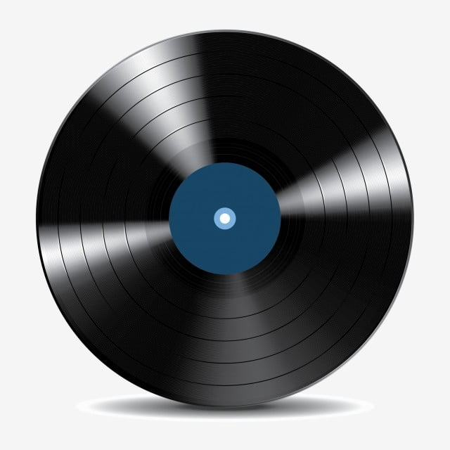 Vinyl Record Disc Audio Blank Celebration Png And