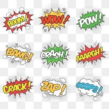 Pow PNG Images | Vector and PSD Files | Free Download on Pngtree