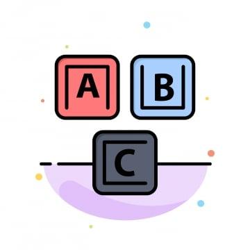 Free Download | Abc Alphabet Blocks Color PNG Images, abc