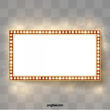 Golden neon lamp, Luminous Efficiency, Facula, Advertisment Board PNG and Vector