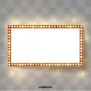 La Luce al Neon di carte dOro, Un Effetto Ottico, Il Posto Di, Il Cartellone PNG e Vector