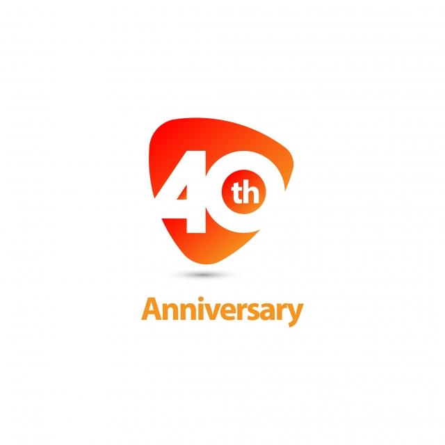 40 Ans Anniversaire Vecteur Modèle Illustration, Publicité, Corporate,  Salut PNG et vecteur pour téléchargement gratuit