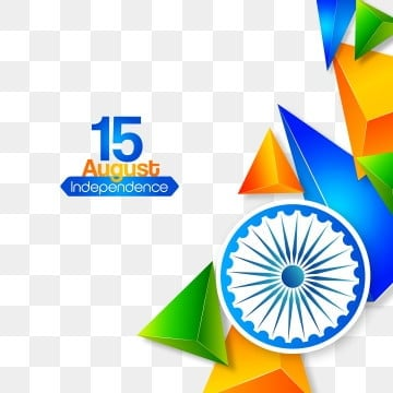 modern abstract polygonal indian independence day wall background, Background, Black, Polygon PNG and Vector