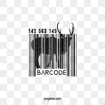 goat animal creative bar code elements, Irregularity, Creative, Animal PNG and Vector