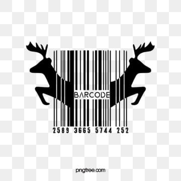 symmetrical animal creative bar code elements, Irregular Lines, Creative, Animal PNG and Vector
